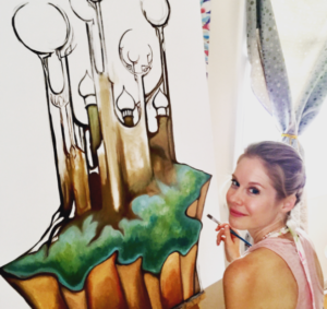 Tara Luther Live Painting